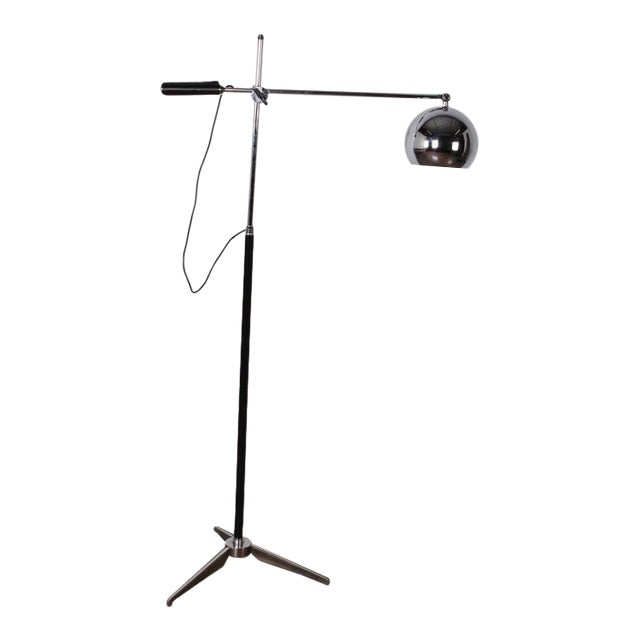 Articulating Floor Lamp by Arteluce For Sale