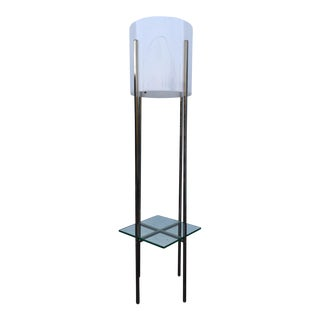 Paul Mayen White Floor Lamp