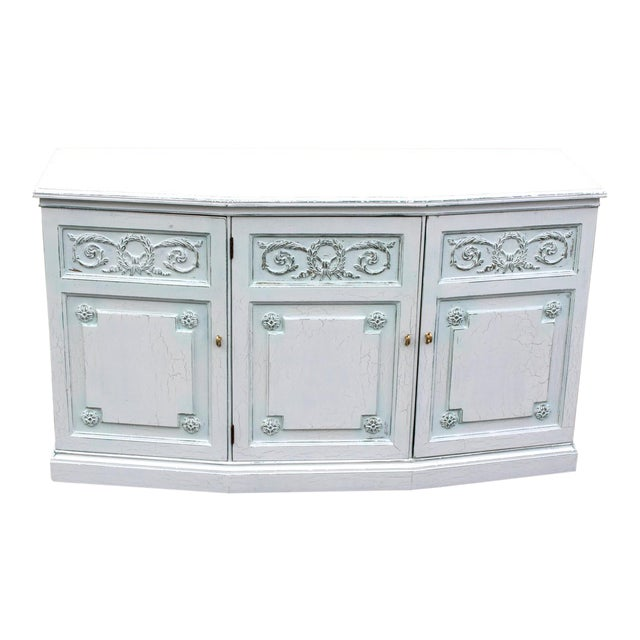 Henredon Mid-Century Neoclassical Style Cabinet For Sale