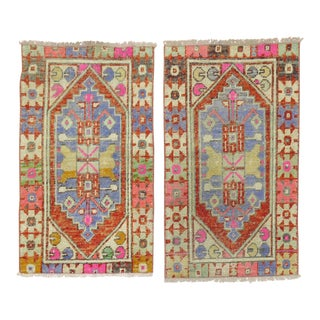 Pair of Turkish Anatolian Rugs For Sale