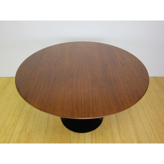 MidCentury Modern Eero Saarinen For Knoll International Walnut - Saarinen table top only