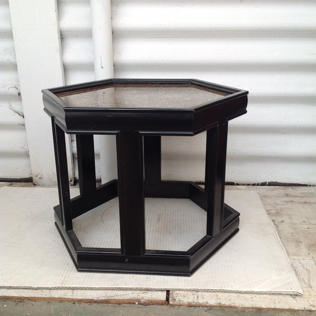 John Keal Black Salt Table - Image 2 of 7