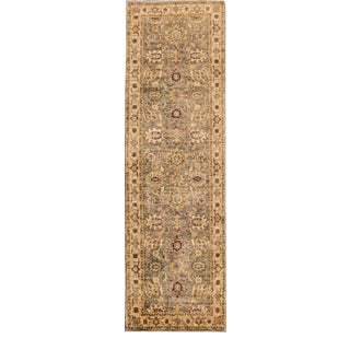 "Mid-20th Century Vintage Peshawar Rug, 3'2"" X 10'5"" For Sale"