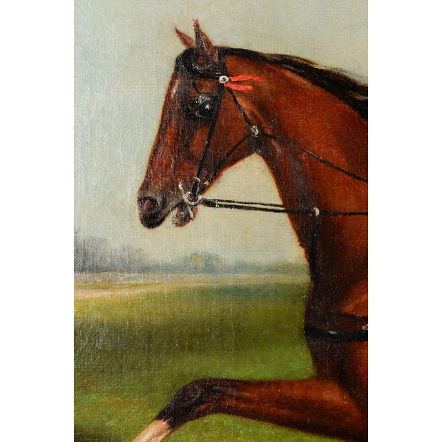 James Hill -19th Century Famous Horse Racing Oil Painting For Sale - Image 7 of 9