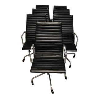Eames by Herman Miller Aluminum Group Executive Chairs - Set of 7