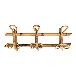 1950s Italian Franco Albini Bamboo Coat Rack For Sale