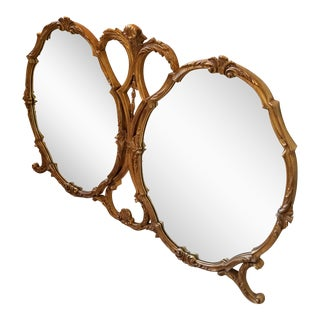 Friedman Brothers Rococo Style Double Mirror