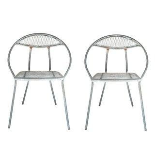 Folding Salterini Garden Chairs For Sale