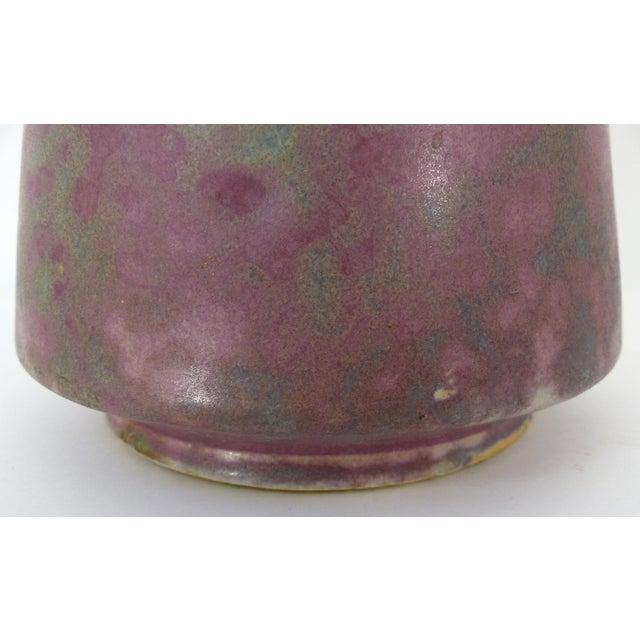 Vintage Burley Winter Conical Vase - Image 6 of 8