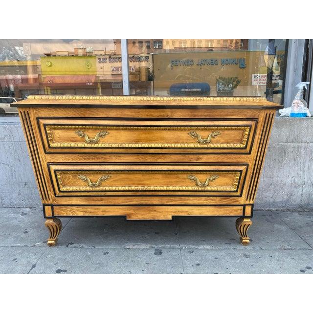 Vintage Hollywood Regency Dresser Commode For Sale - Image 13 of 13