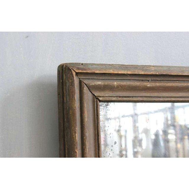 French Mercury Mirror with Wooden Back - Image 3 of 11