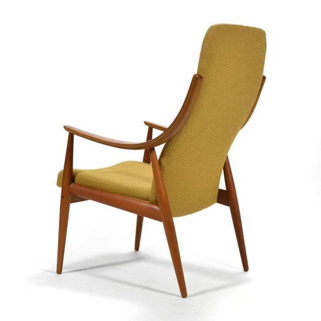 Peter Hvidt & Orla Mølgaard-Nielsen High Back Easy Chair For Sale In Chicago - Image 6 of 11