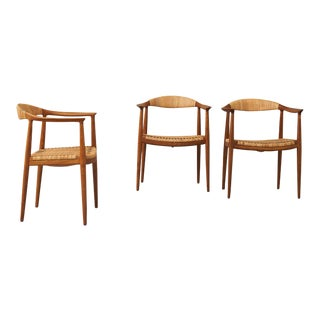 """""""The Chair"""" by Hans Wegner For Sale"""