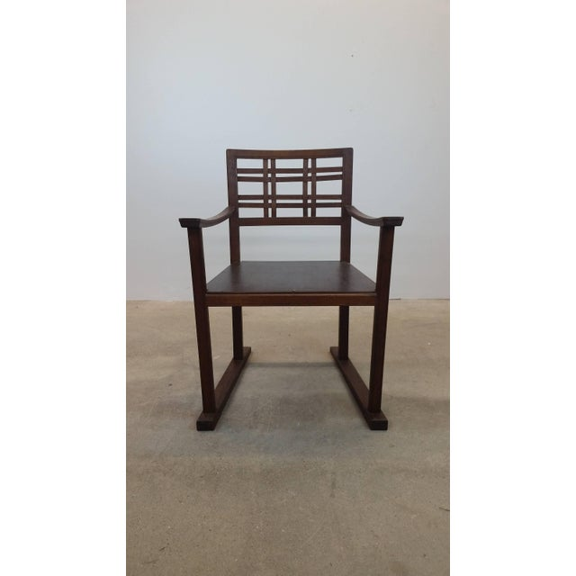 Scottish Art and Crafts Chair For Sale - Image 4 of 9