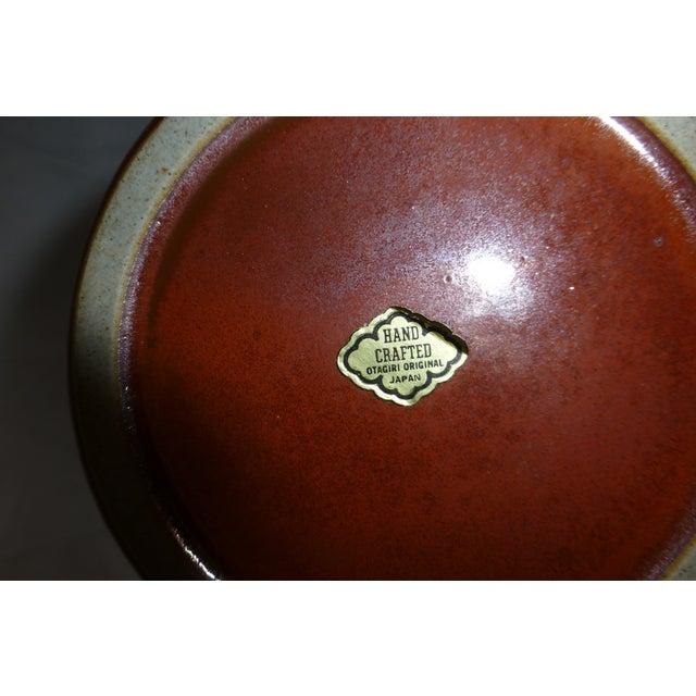 Mid Century Otagiri Japanese Pottery Vase For Sale In Boston - Image 6 of 6