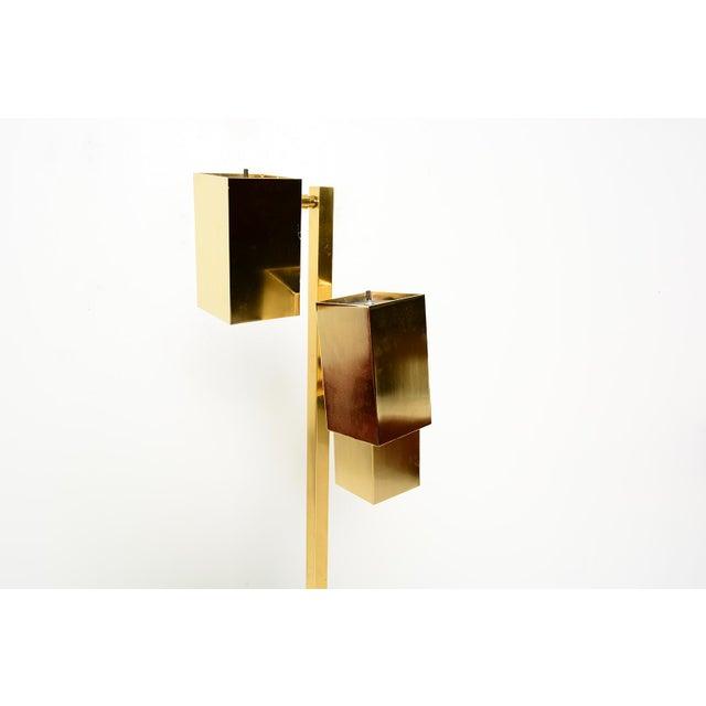 Koch & Lowy Brass Koch & Lowy Floor Lamps - a Pair For Sale - Image 4 of 7