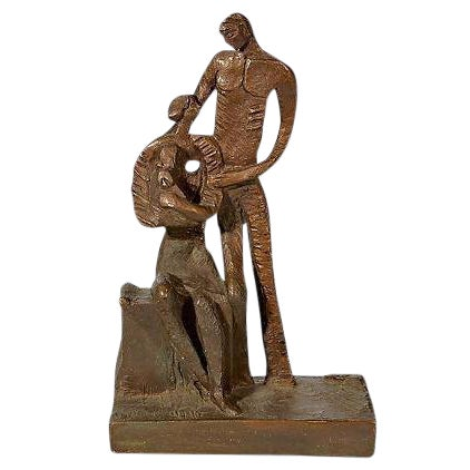 1970's Bronze Signed Sculpture - Image 1 of 5