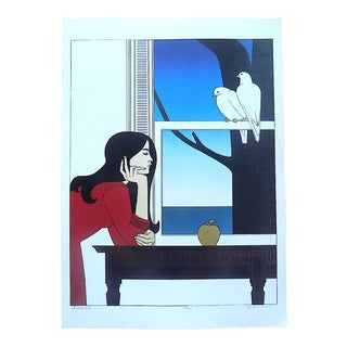 """Vintage Lithograph-""""Atalanta""""-After Will Barnet For Sale"""