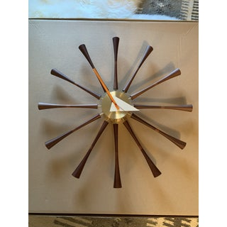 George Nelson for Vitra Spindle Clock Preview