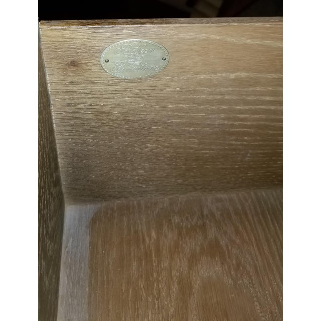 Baker Furniture Company Baker Furniture Carved Wood Chest of Drawers For Sale - Image 4 of 5