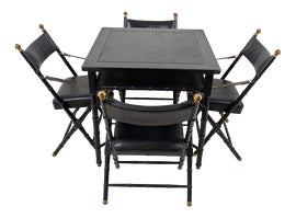 Image of Black Card and Game Tables