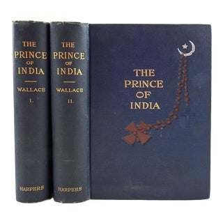 Prince of India by Lew Wallace 2 Vol. For Sale
