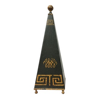 Greek Key Design Obelisk