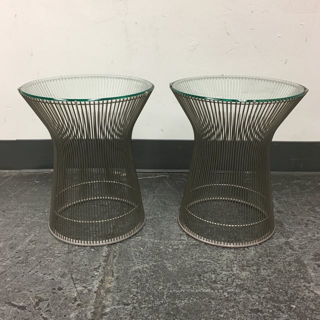 Warren Platner by Knoll Side Tables - A Pair - Image 3 of 8