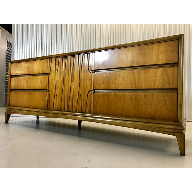 Mid-Century Nine Drawer Dresser - Image 2 of 11