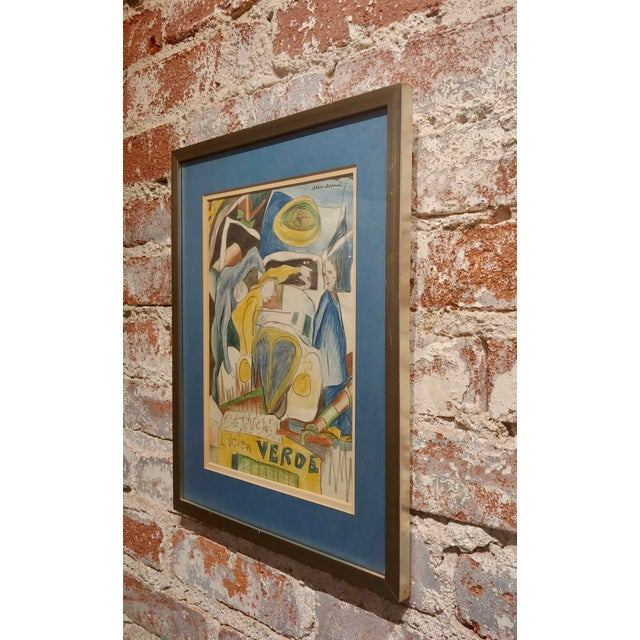 Arthur Secunda - Car Accident - Original Painting For Sale In Los Angeles - Image 6 of 8