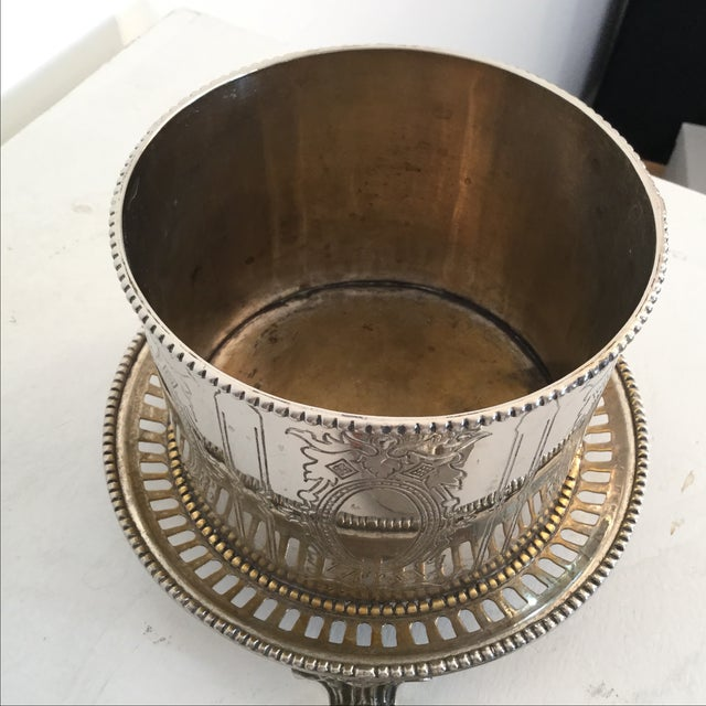 Silver Plate Biscuit Box - Image 5 of 6