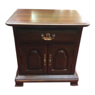 Vintage Kling Cherry Nightstand For Sale