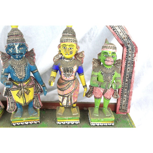 Asian Antique Thai Shrine Decorative Object For Sale - Image 3 of 6