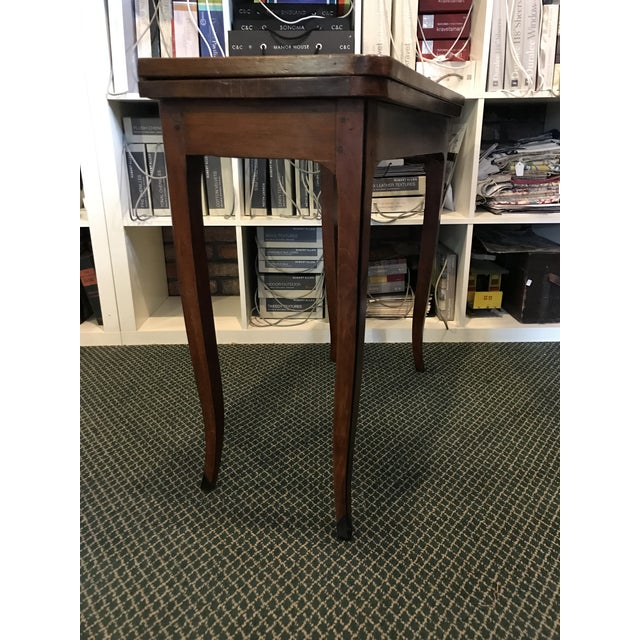 18th Century 1700's Antique Inlaid Game Table For Sale - Image 5 of 10