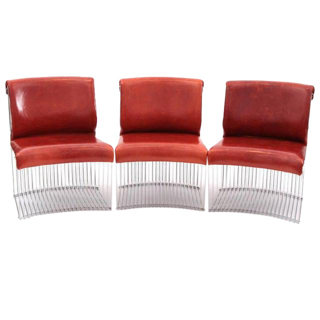 1970s Vintage Verner Panton for Fritz Hansen Pantonova Chairs- Set of 3 For Sale