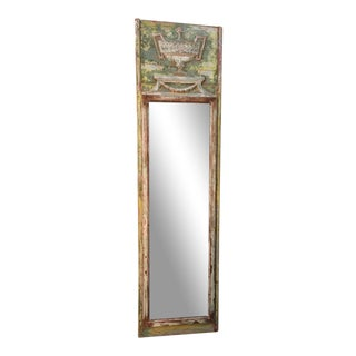 Louis XV Style Trumeau Mirror For Sale