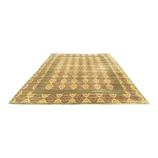 Abc Carpets Nepalese Silk + Wool Area Rug For Sale
