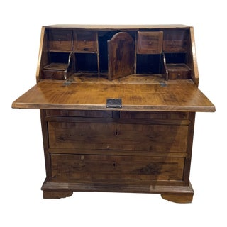 18th Century Flemish Maple Secretary Desk For Sale