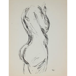 Mid Century Figure Study For Sale