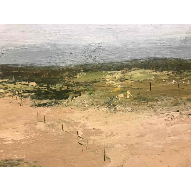 An Abstract Landscape Oil Painting by Robert Eadie For Sale - Image 4 of 5