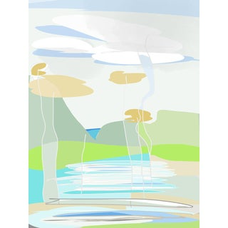 """""""Bali"""" by Trixie Pitts Original Print on Heavy Paper For Sale"""