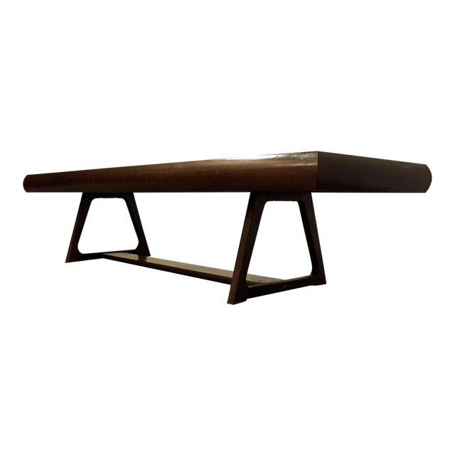 Mid-Century Danish Modern Adrian Pearsall Style Walnut Coffee Table - Image 1 of 11