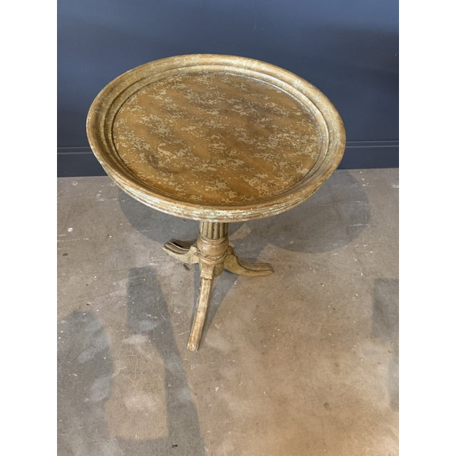 Rustic Side Table For Sale - Image 4 of 5