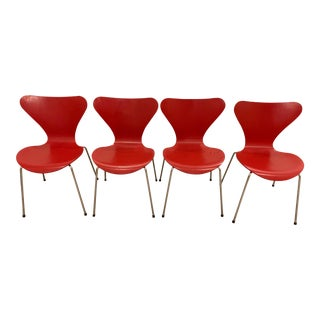 Series 7™ Chairs by Arne Jacobsen for Fritz Hansen - Set of 4 For Sale