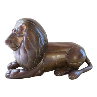 Bustamonte Lion Statue For Sale