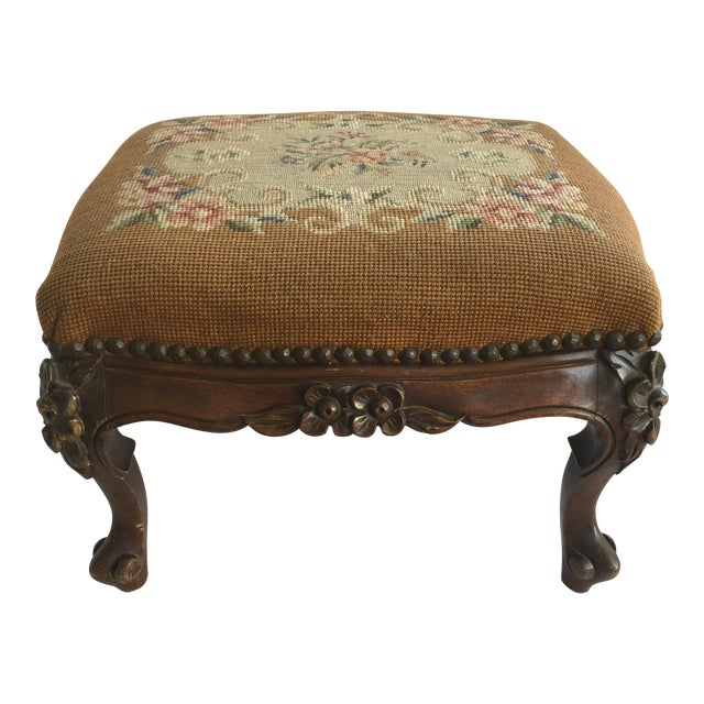 Pleasant Antique Colonial Furniture Co Footstool Gmtry Best Dining Table And Chair Ideas Images Gmtryco