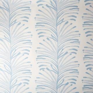 Sample - Pepper Emma in Blue Wallpaper For Sale