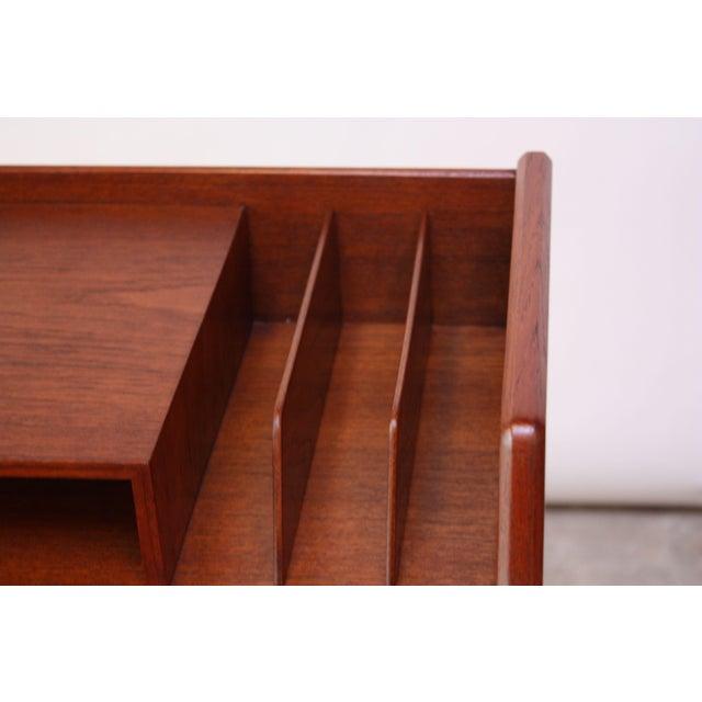 Teak and Brass 'Ladies' Desk by Arne Wahl Iversen - Image 9 of 13