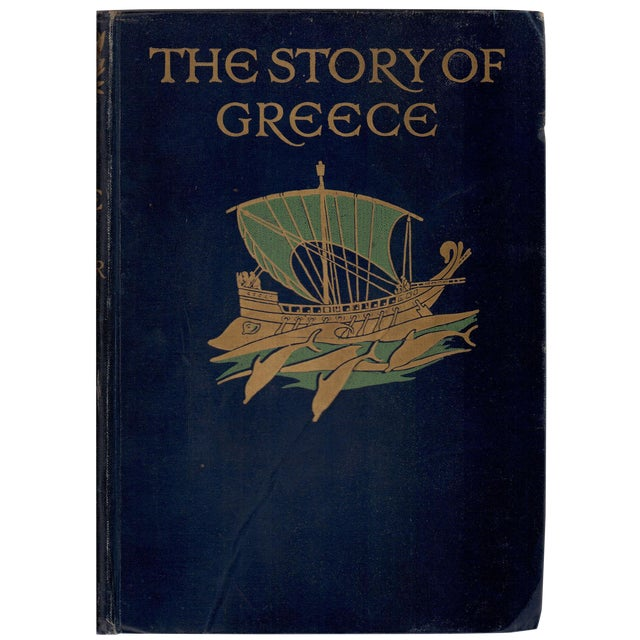 'The Story of Greece' Book by Mary MacGregor - Image 1 of 4