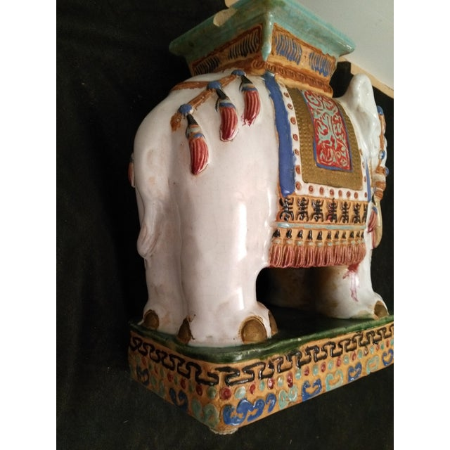 Elephant Decorative Plant Stand - Image 10 of 11